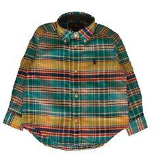 Genuine Ralph Lauren Boys checked cotton shirt heavier winter weight age 2