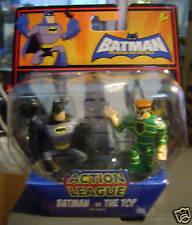BATMAN BRAVE BOLD ACTION LEAGUE BATMAN VS THE TOP *NEW*