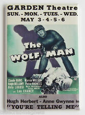 The Wolf Man FRIDGE MAGNET (2 x 3 inches) movie poster window card lon chaney