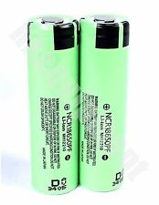 Panasonic NCR18650PF 10A High Drain Hybrid Li-ion 2900mAh Battery x2