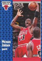 MICHAEL JORDAN Fleer 1991-92 NBA Season Basketball Card #29