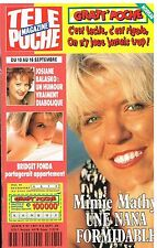 D- Télé Poche N°1491 Mimie Mathy,Josiane Balasko,Bridget Fonda