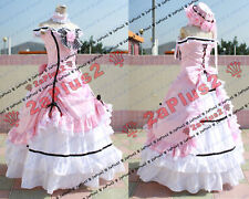 Earl Ciel Phantomhive Pink ball gown Cosplay Costume