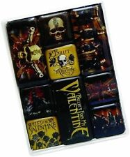 Set of 9 BULLET FOR MY VALENTINE Magnet Set Fridge Collectable Memorabilia New