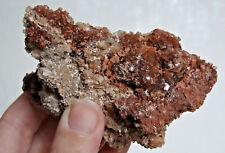 ARAGONITE brut Maroc boule de cristaux bruns 226 g / 9 cm x 6 cm