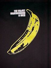 Gildan The Velvet Underground & Nico Black Yellow Banana Device Men T-shirt Xl