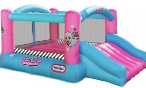 New L.O.L  Surprise Jump 'N Slide Inflatable Blounce House