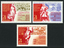 Russia 3774-3776, MNH. Aims of the new agricultural 5-year plan, 1970