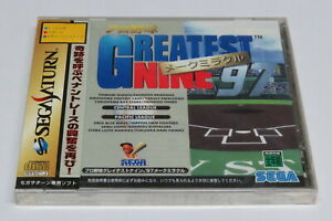 Greatest Nine '97 Make Miracle Baseball Sega Saturn Japan * Brand NEW Sealed