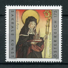 Austria 2018 MNH Saint Erentrude Mother of Salzburg 1v Set Religious Art Stamps