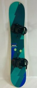 Used Burton Sherlock Wide Snowboard 160cm & USED Burton Cartel EST Bindings