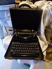 Feb 1937 Remington Rand TYPEWRITER Model 1 Noisy Noiseless Portable P109031 Case