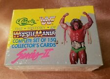 Factory Sealed WWF WWE Classic Wrestling The History Of Wrestle Mania Series II