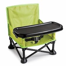Camping Booster Portable Infant Seat, Baby Toddler Travel Dining High Chair