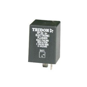 Tridon Electronic Flasher EP12 fits Jeep CJ5 - CJ8 2.4 D, 2.5, 3.8, 4.2