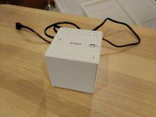 Sony  Cube White  ICF-C1T FM/AM Radio Alarm Clock Rare White Model