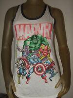New Juniors Med-L Marvel Comics The Hulk Thor Iron Man Captain America Top Shirt
