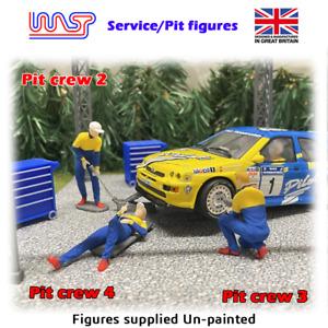 1/32 scale Figures - Pit crew - Mechanic, Service crew - WASP