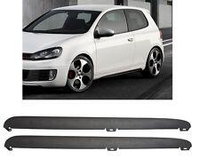 LOT DE 2 BAS DE CAISSE VW GOLF 6 LOOK GTI + SUPPORTS DE FIXATIONS
