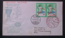 JAPAN 1981, BADMINTON, 36th NATIONAL ATHLETIC MEET, FDC MAILED TO BULGARIA