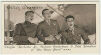 Douglas Fairbanks Jr + Neil Hamilton 1931 Wills Cinema Stars Tobacco Card #39