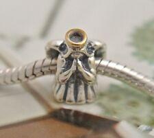 Authentic Pandora silver BEAD/CHARM #791770 Divine Angel love hope guardian