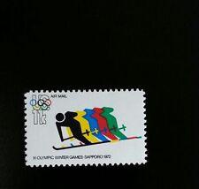1972 11c Olympic Winter Games, Sapporo Scott C85 Mint F/VF NH