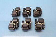 2003 MERCEDES C240 W203#11 IGNITION SPARK PLUG COIL PACK SET OF 6 OEM 0001587803