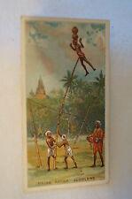Vintage 1900's-Wills British Empire Series Card- Native Jugglers India -Havelock