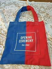 Opening Ceremony Tote Red & Blue