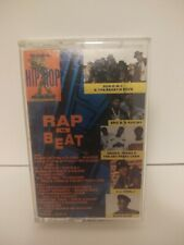 RAP THE BEAT-Various Artists Hip Hop Cassette Tape, 1988, Priority Records Comp