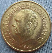 Dominican Republic 1955 Gold 30 Pesos  Trujillo Anniversary