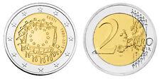 ESTLAND 2 EURO 30 JAHRE EUROPAFLAGGE 2015 bankfrisch