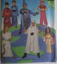SIMPLICITY Pattern 8303 Vintage Halloween Pretend Costumes Sz A, S M L   02:E4