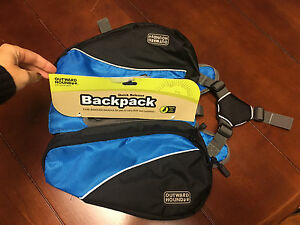 NWT Quick release backpack Outward Hound SMALL