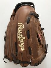 "VGC Rawlings P12BF 12 1/2"". All Leather Shell Baseball Glove. L-H Thrower."
