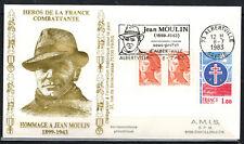 1983-Enveloppe Philatélique 1°Jour**J.Moulin-Obl.Alberville -Timbre Yt.1885/2182