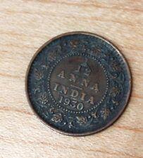 1930 India 1/12 Anna