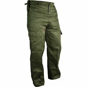 Kombat UK Men's Trousers Army Military Cargo Camo Camouflage Airsoft Pants Work