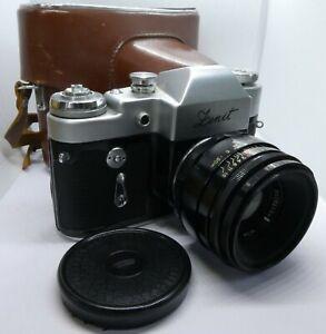 Vintage Zenit 3M 35mm SLR Camera, Helios-44 f2/58mm Lens