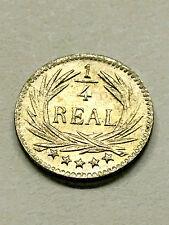 1896 Guatemala 1/4 Real BU #3311