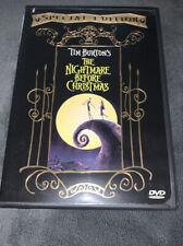 Nightmare Before Christmas DVD 1993