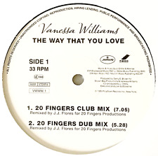 "VANESSA WILLIAMS ‎- The Way That You Love (12"") (Promo) (VG/NM)"
