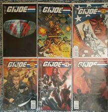 G.I. JOE #'s 0-10 VARIOUS COVERS (SEE DESCRIPTION) IDW COMICS LOT OF 19 BOOKS