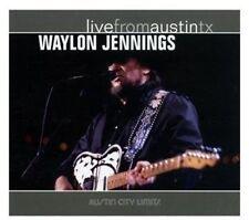 Waylon Jennings - Live from Austin TX [New CD] Digipack Packaging