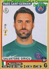 338 SALVATORE SIRIGU # ITALIA PSG PARIS.SG STICKER PANINI FOOT 2016