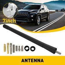 7 Short Black Antenna Mast Radio Amfm For Chevy Silverado 2006 2021 New