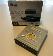 LG 16x Blu-Ray (BD)/DVD/CD Brenner - Super Multi Blue BH16 - wie neu in OVP