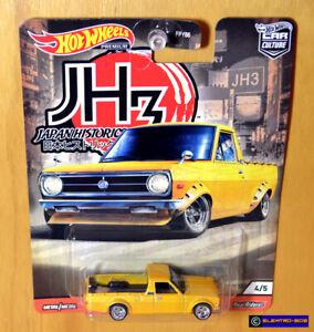 Hot Wheels '75 Datsun Sunny Truck [Japan Historics] 2020-New/Sealed/VHTF [E-808]