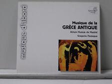 Greece: Musique de la Grece Antique by Atrium Musicae de Madrid (CD) VG++